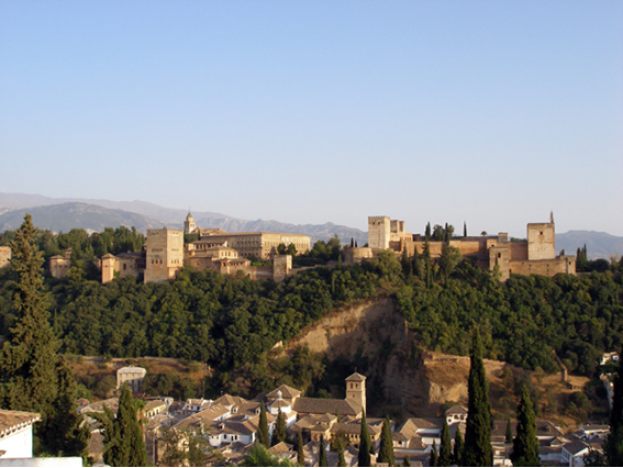 View of Alhambra from Albaizin